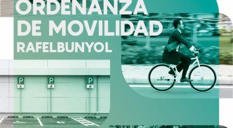 Rafelbunyol aprueba por unanimidad la Ordenanza de Movilidad Sostenible