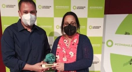 Albalat dels Sorells celebra el Dia Mundial del Medi Ambient amb el guardó rebut al Congrés Nacional del Medi Ambient, a Madrid