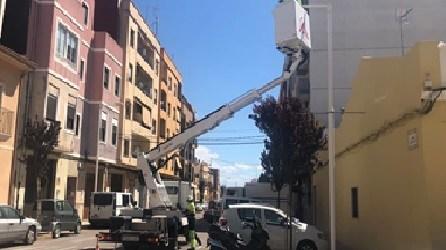 L'Ajuntament d'Albalat dels Sorells ha conclòs la instal·lació de 360 noves lluminàries de màxima eficiència energètica