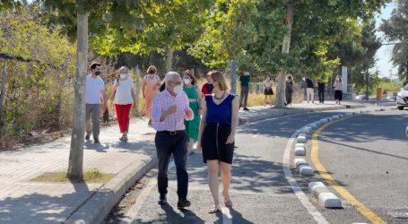 La Diputació subvenciona la connexió ciclopeatonal entre Alboraia i València en l'estació de Palmaret