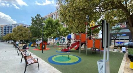 Nuevo parque infantil en el Parc Central