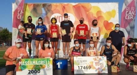 Borja Añón y Marta Esteban ganan la RunCáncer 2021 de Massamagrell