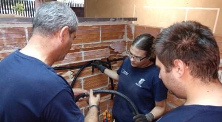"""Paterna prepara el Taller de Empleo """"Les  Coves"""" con formación práctica en el interior de las típicas cuevas-vivienda de la ciudad"""