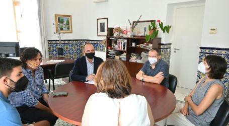 Martínez Dalmau visita Meliana per a conéixer de prop el projecte de regeneració urbana del municipi