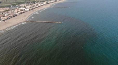 Microalgas, el origen de la mancha marrón que ha mantenido cerradas al baño las playas de El Puig, Puçol y La Pobla de Farnals