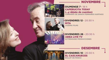 El Gran Teatro de Paterna inicia la temporada de otoño