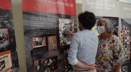 Comienzan en Burjassot los actos para conmemorar el aniversario del nacimiento de Estellés