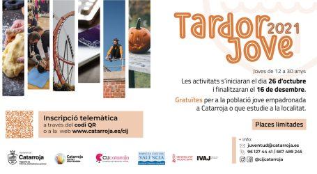 Catarroja presenta la programació Tardor Jove 2021