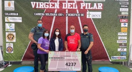 Massamagrell recauda más de 4.200 euros para la lucha contra el cáncer en la 10 KM Virgen del Pilar
