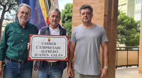 El pleno de Albal aprueba denominar la calle perpendicular a la estación de tren, Alfredo Juanes Galán