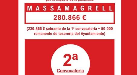 Massamagrell pone en marcha la segunda convocatoria del Plan Resistir