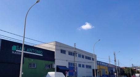 Paterna completa la eficiencia energética y lumínica del polígono Fuente del Jarro con 522 nuevas luminarias LED