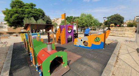 El Ayuntamiento de Bonrepòs i Mirambell invierte 26.737 euros en la renovación de sus parques infantiles y el parque de los paelleros