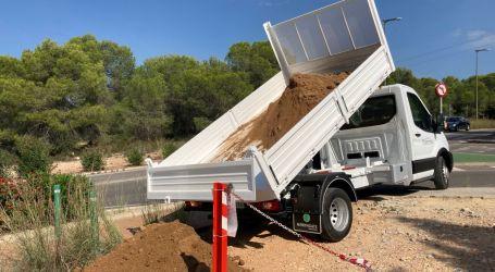 Paterna finaliza el blindaje de todos los caminos y accesos localizados susceptibles de descarga de vertidos