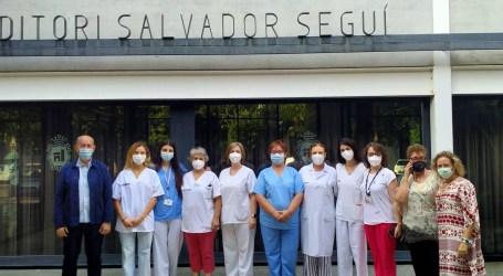 El auditori Salvador Seguí finaliza como punto de vacunación en Massanassa