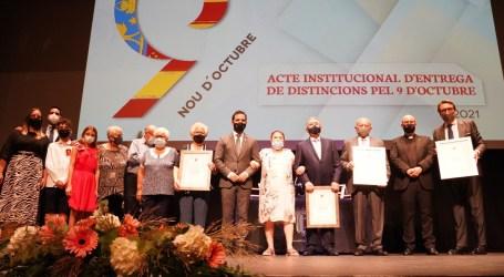 Paterna inicia los actos del 9 d'Octubre con la entrega de las Insignias de Oro de la Villa