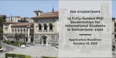 منحة جامعة لوزان لدراسة الدكتوراه في سويسرا 2020 (ممولة بالكامل)