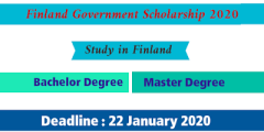 منحة حكومة فنلندا 2020 لدراسة البكالوريوس والماجستير