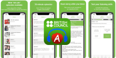 تطبيق Learn English Podcast من المجلس الثقاف يالبريطاني لتعلم الإنجليزية
