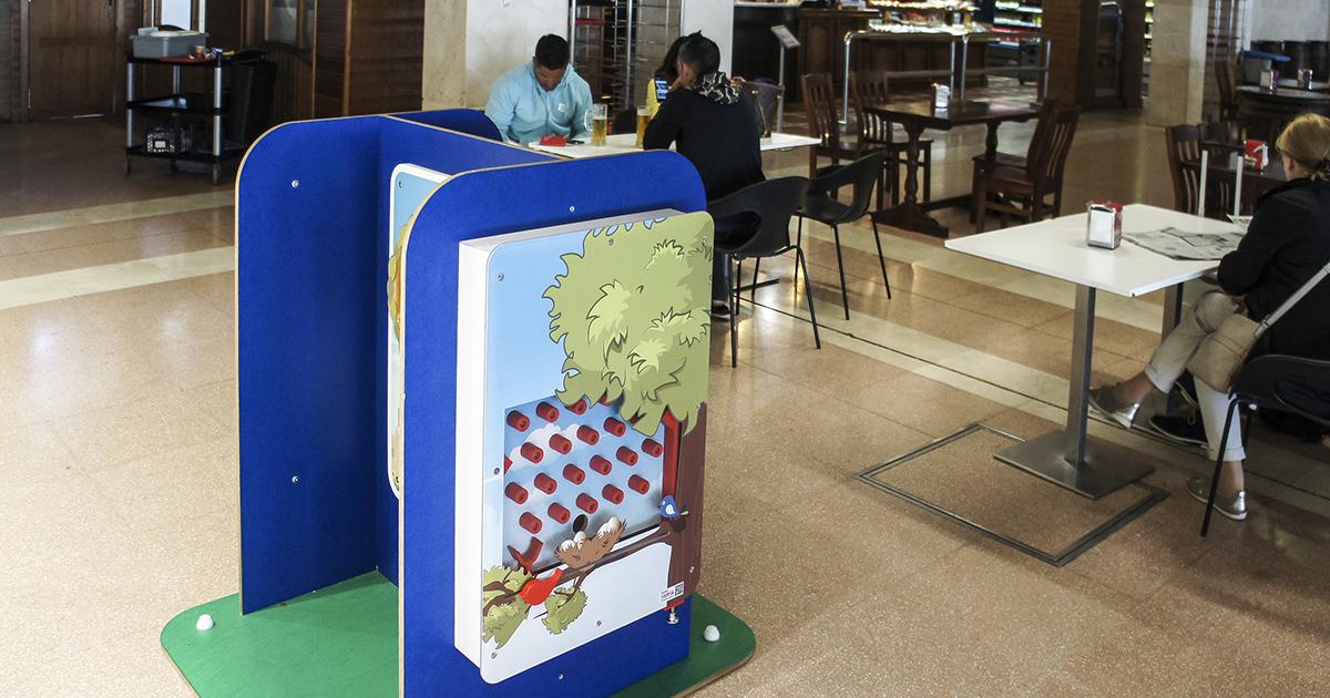 El Aeropuerto De Jerez Instala Un Punto De Juegos Infantiles En La - Sala-juegos-nios
