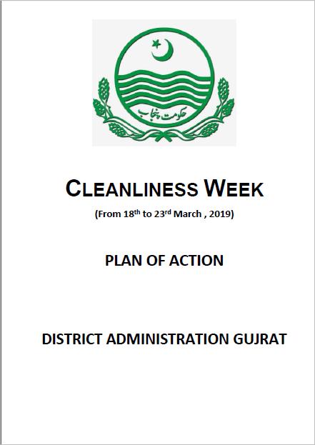 Cleanliness Weeek