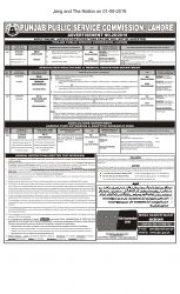 PPSC 640 Jobs. PPSC Advertisement No. 28-2019