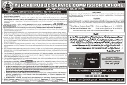 Mines & Minerals and Irrigation Department Jobs Instructions
