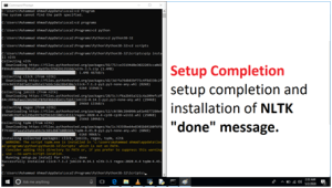 NLTK Installation in Python Step by Step Procedure. image 2