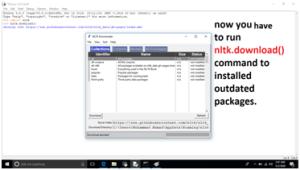 NLTK Installation in Python Step by Step Procedure. image 5