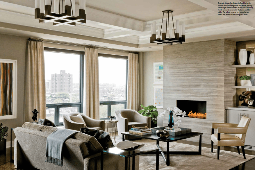 Back Bay Condo Gets A Dynamic New Look Elms Interior Design