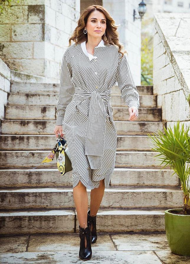 الملكة رانيا العبد الله 5 - موقع المصطبة