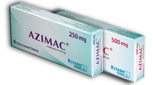 كبسولات أزيماك Azimac مضاد حيوى واسع المجال للقضاء على البكتيريا والفطريات