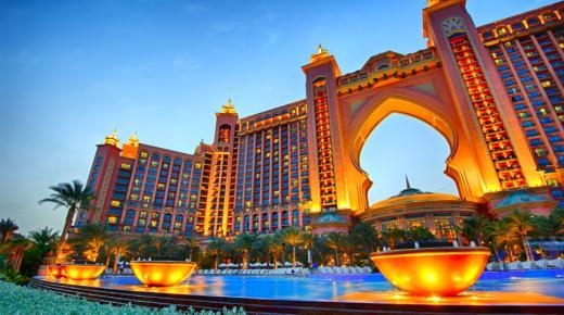أفضل الفنادق فى دبي