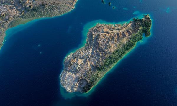 أكبر الجزر في المحيط الهندي