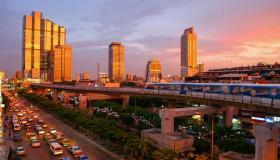 أكبر المدن في تايلاند