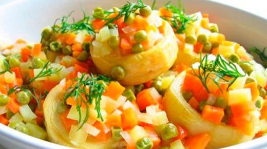 وصفات مختلفة لعمل الأكل النباتي