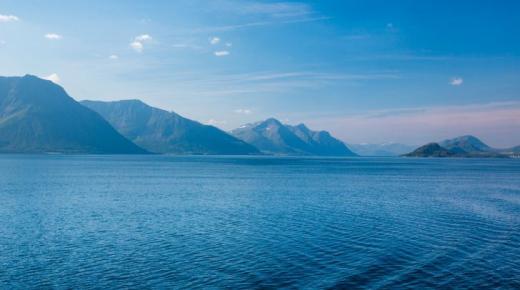أهم البحار الثانوية في المحيط الأطلسي