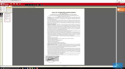 إضافة نص إلى ملف pdf
