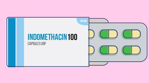 دواء إندوميثاسين Indomethacin لتسكين الألم وعلاج التهاب المفاصل