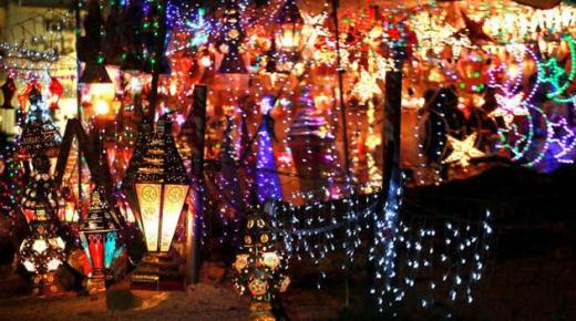 استيراد فوانيس رمضان من الصين