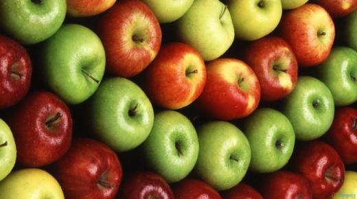 دلالات ومعنى رؤية التفاح فى الحلم بالتفصيل