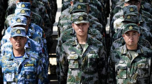 ترتيب الجيش الصيني 2020 على مستوى العالم