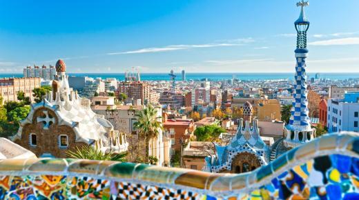 المعالم السياحية فى برشلونة