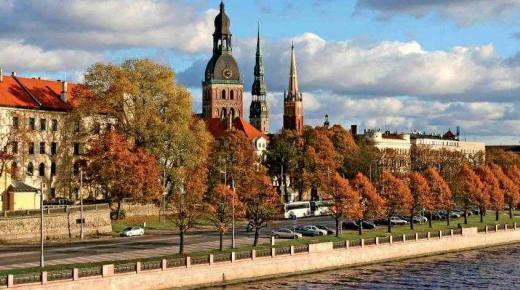 المعالم السياحية فى لاتفيا