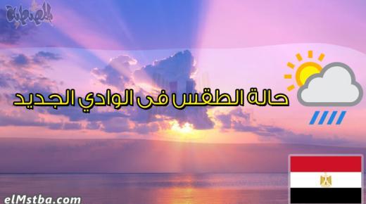 حالة الطقس فى الوادى الجديد، مصر اليوم #Tareekh