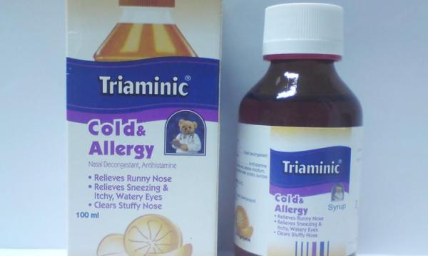 دواء تريامينيك Triaminic لعلاج نزلات البرد وعلاج الكحة بصورة فعالة