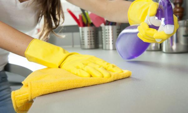 طرق تنظيف رخام المطبخ