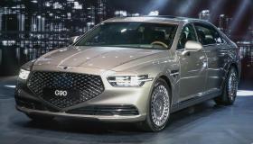 مواصفات وأسعار سيارة جينيسيس G90 2019