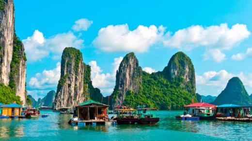 خليج هالونج .. أجمل الأماكن السياحية فى فيتنام