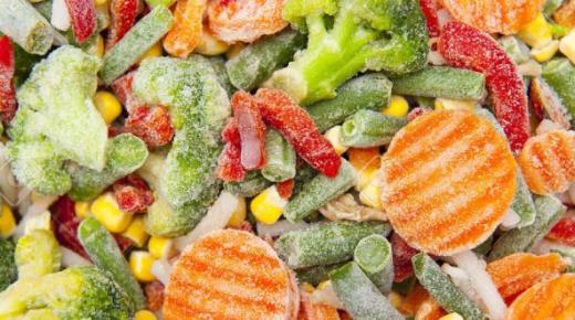 دراسة جدوى مشروع إنتاج الخضروات المجمدة